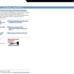 Microsoft Homepage - December 1998