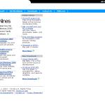 Microsoft Homepage - January 2001