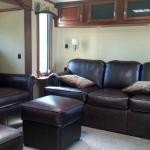 2012 Redwood 36FL - Front Living Area