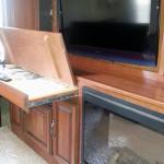 2012 Redwood 36FL - Hiding Desk with Laptop Storage in Living Room