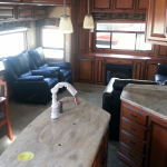 2014 DRV Mobile Suits Fifth Wheel 38RESB3 Living Area