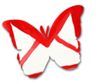 Butterfly Email Icon