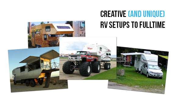 Creative (and Unique) RV Setups to Fulltime