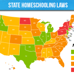 State Homeschooling Laws Map