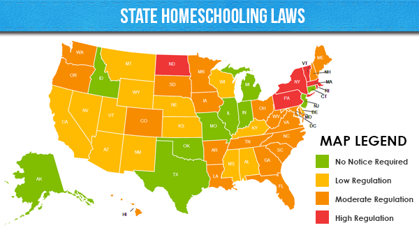 State Homeschooling Laws