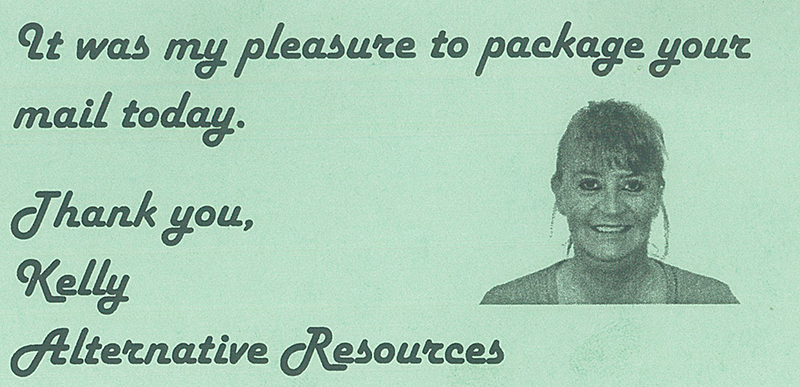 Alternative Resources Card