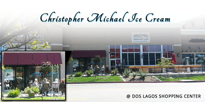 Christopher Michael Ice Cream in Dos Lagos Shopping Center