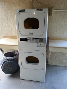 Dryers at Glen Ivy RV Park