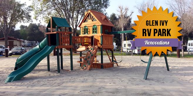 Renovations at Glen Ivy RV Park