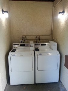 Washing Machines at Glen Ivy RV Park