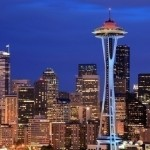Washington - No Income Tax and Space Needle in Seattle